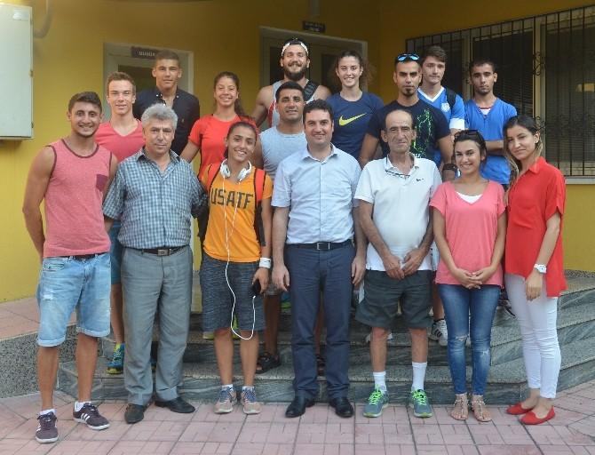 Adana TOHM Sporcuları Olimpiyatlara Hazırlanıyor