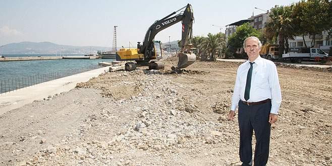 'Mudanya sahilini nakış gibi işliyoruz'