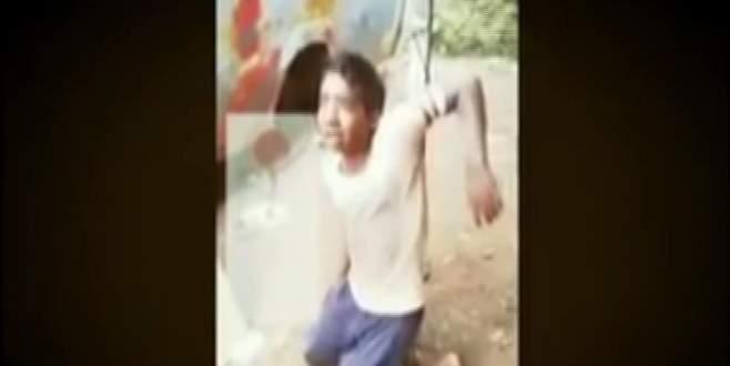 13 yaşındaki çocuğu bisiklet çaldı diye…