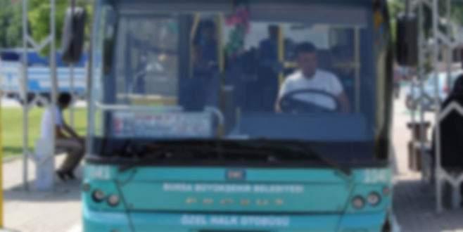 Şoförün sözleri otobüsü karıştırdı!