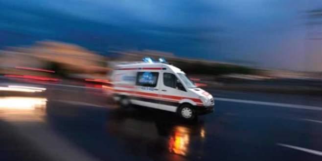 7 yaşındaki çocuğu almaya giden ambulansa hain saldırı!