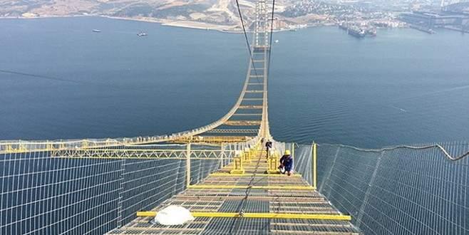Dev köprüde adım adım sona doğru