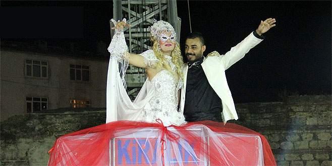 Bursa'da ilginç düğün