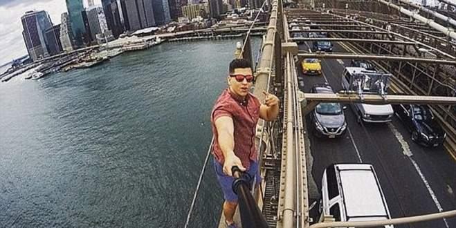 Selfie tutkusu başına bela oldu