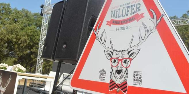 Nilüfer'de festival zamanı