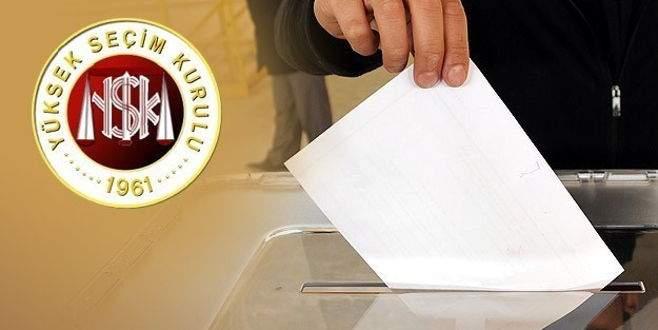 YSK seçim tarihini partilere sundu