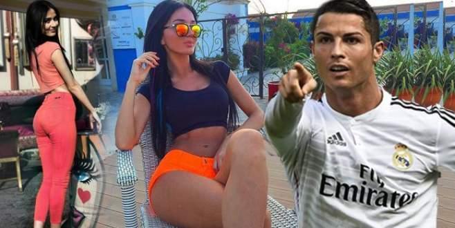 Ronaldo Türk güzele vuruldu