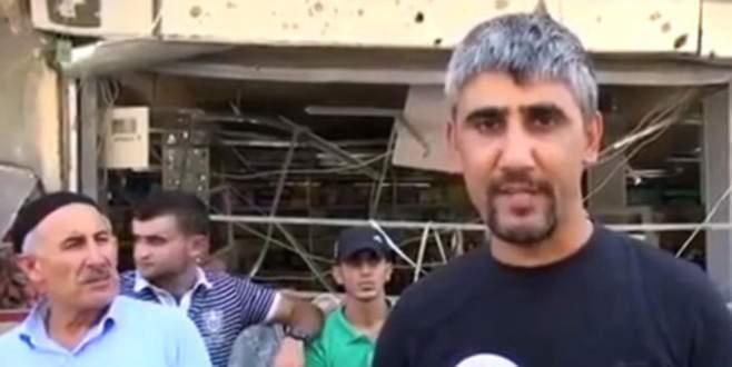PKK'lı terörist yöre halkı gibi röportaj vermiş!