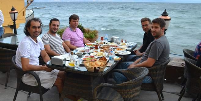 Mudanya'da Sağlam kahvaltı