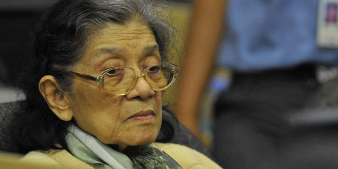 Soykırımla suçlanan kadın lider öldü