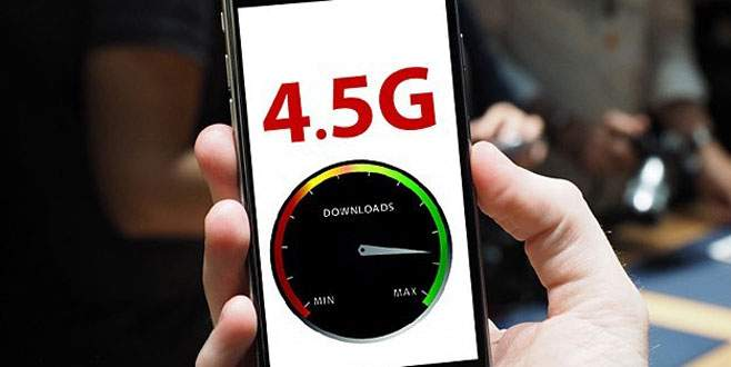 Mobil iletişimde 4,5G için geri sayım başladı