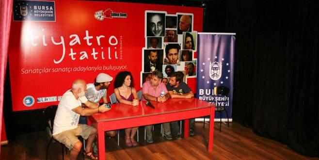 Mudanya'da 'Tiyatro Tatili' başladı
