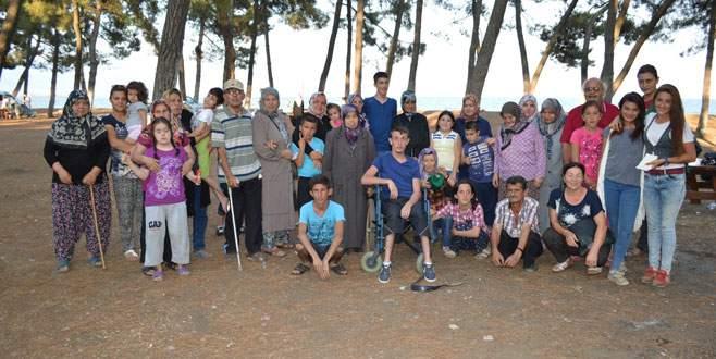 Engelli bireyler piknikte buluştu