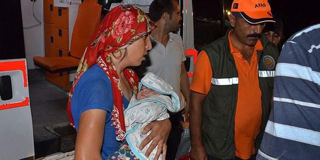 45 kişi barajda 7 saat mahsur kaldı
