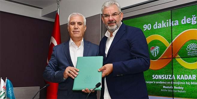 Nilüfer Belediyesinden Bursaspor'a loca desteği