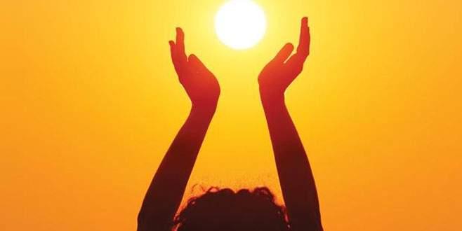 Her gün mutlaka 15 dakika güneşlenin