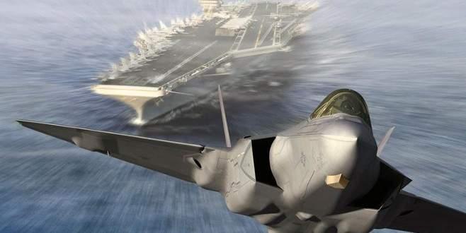 ABD F-22'leri gönderiyor