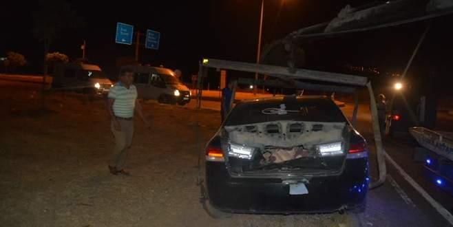 Suriye plakalı otomobilde bomba alarmı