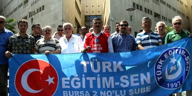 Türk Eğitim-Sen'den suç duyurusu