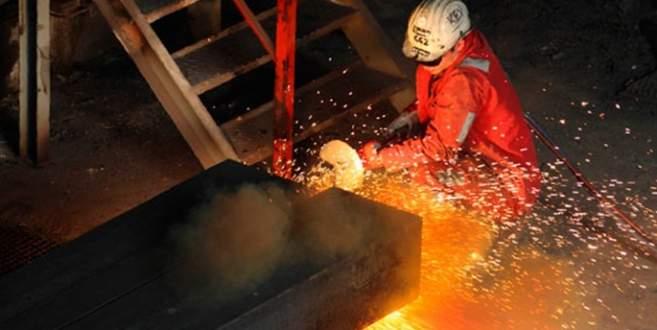 Sanayide istihdam yüzde 0,1 arttı