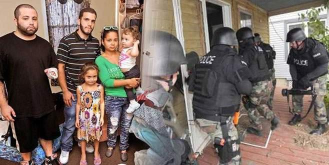 Polis yanlış evi bastı