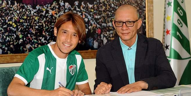 Hajime Hosogai resmen Bursaspor'da