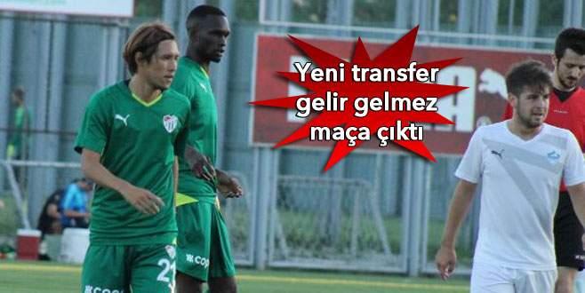 Timsah, Yeşil Bursa'yı affetmedi