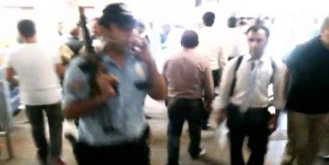'Otogar'da otomatik silahlı saldırı
