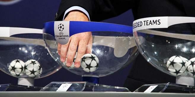 Şampiyonlar Ligi'nde gruplar belli oldu