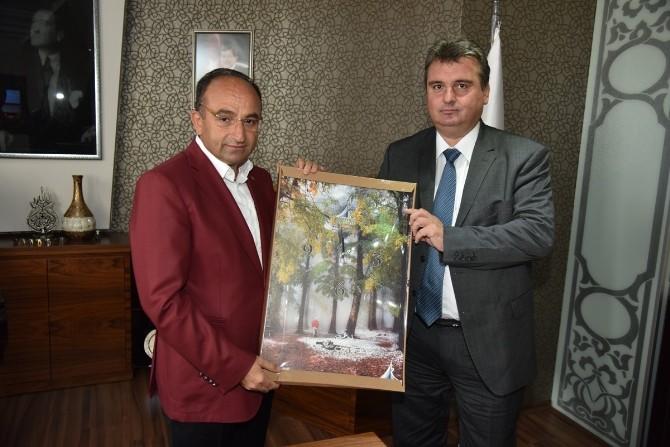 Başkan Üzülmez, Bosna Hersek'ten Mevkidaşını Ağırladı