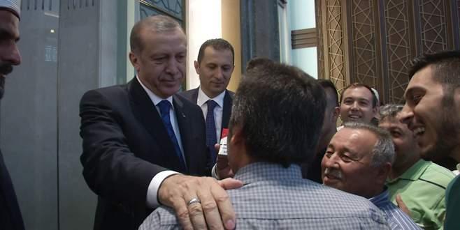 Erdoğan ile vatandaş arasında ilginç diyalog