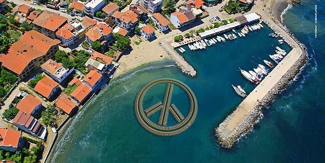 Bursa'da 'barış simgesi' ile rekora…
