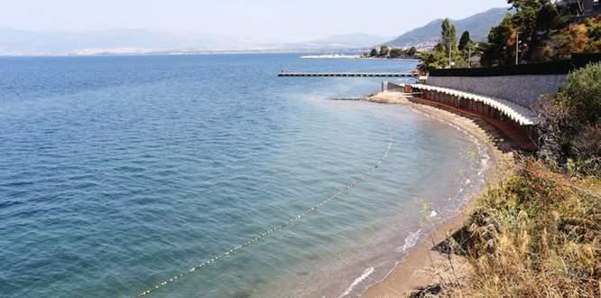 Bursa'da 'kadınlara özel plaj'