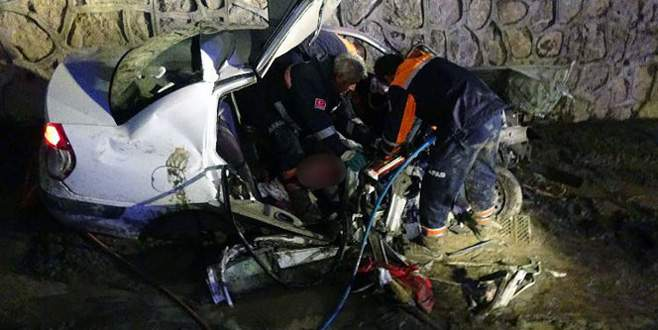 Feci trafik kazası! 3'ü çocuk 5 ölü