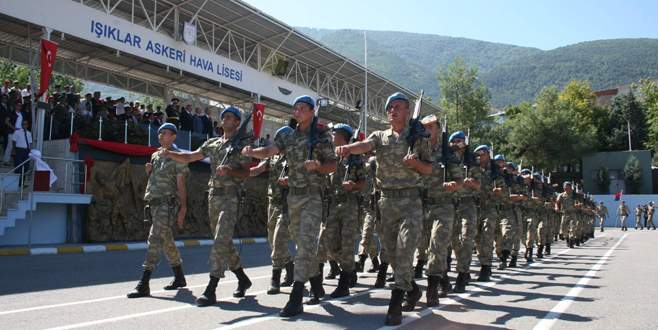 30 Ağustos Zafer Bayramı Bursa'da kutlandı