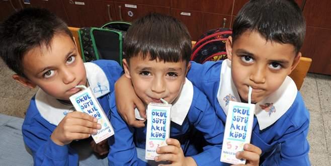 Okul sütü sektöre katkı sağlıyor