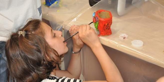 Bilgi Kültür Evleri'ne çocuklardan büyük ilgi