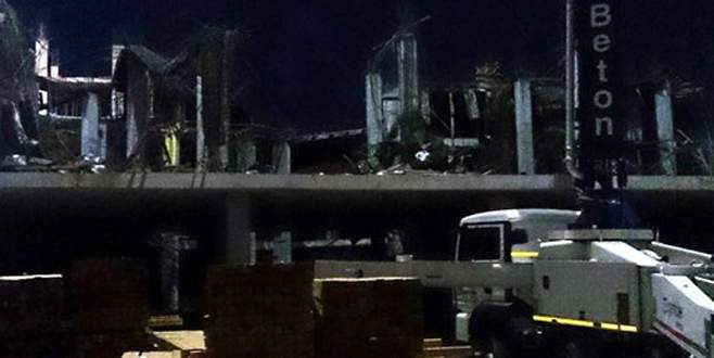 Otel inşaatında göçük: 7 yaralı