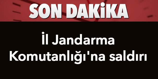 PKK, İl Jandarma Komutanlığı'na roketatarla saldırdı!