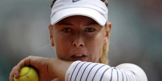 Sharapova, ABD Açık'tan çekildi
