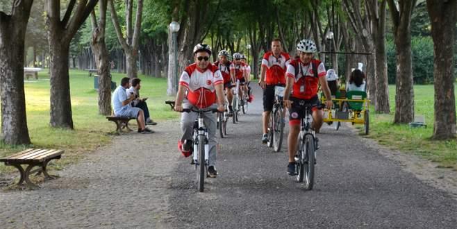 112 Acil Servis 'bisikletle' müdahale edecek