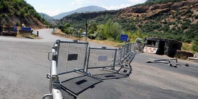 Yollar kapatıldı, operasyon başladı