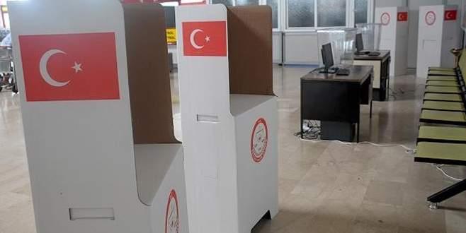 Oy verilecek gümrük kapıları açıklandı
