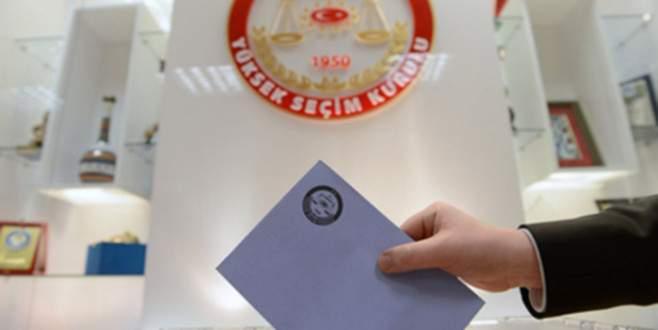 Bağımsız adaylar için son gün 18 Eylül
