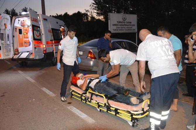 Niksar'da Feci Kaza: 1 Yaralı