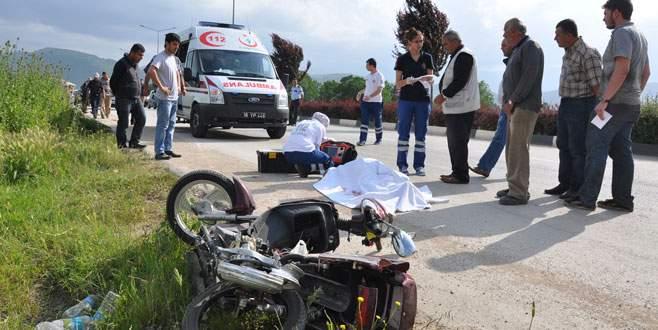 Motosikletle ölümlere dur