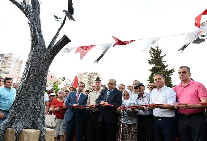 Şehit Barış Akkabak Parkı Dünya Barış Günü'nde Açıldı