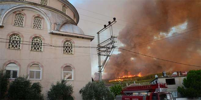 Köylü yangınla uğraşırken, hırsızlar…
