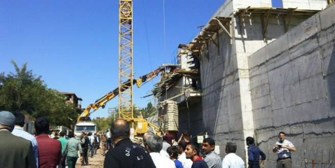 AVM inşaatında göçük: 1 ölü, 4 yaralı