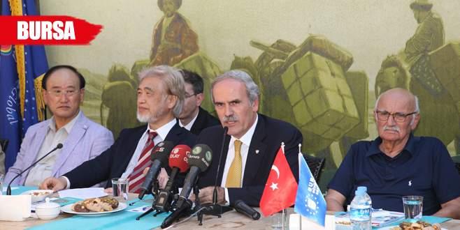 Bursa'da İpekyolu buluşması
